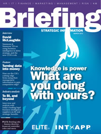 Briefing on finance 2012 cover image