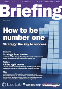 Briefing on strategy cover