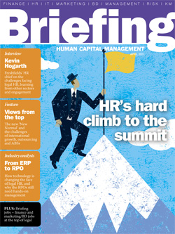 Briefing on HR April 2012 cover