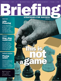 Briefing on strategy 2012 cover