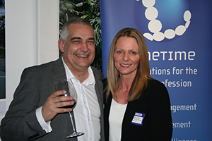 Picture of winner Jamie Lockwood and Deborah Lamb from Linetime