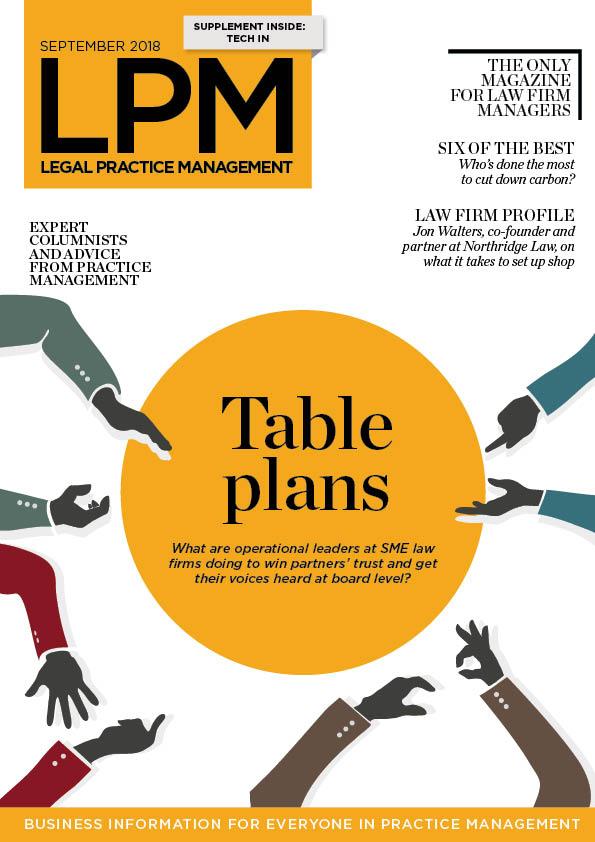 LPM September 2018 - Table plans