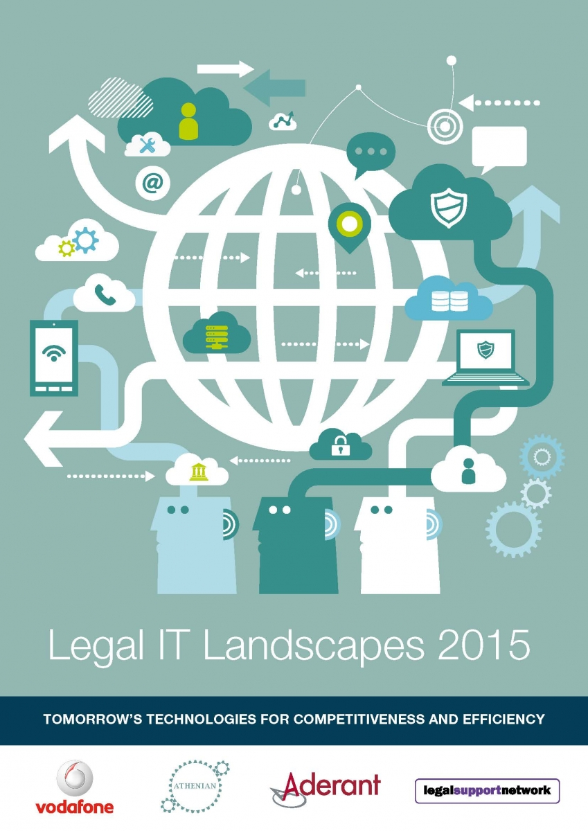 Legal IT Landscapes 2015 cover