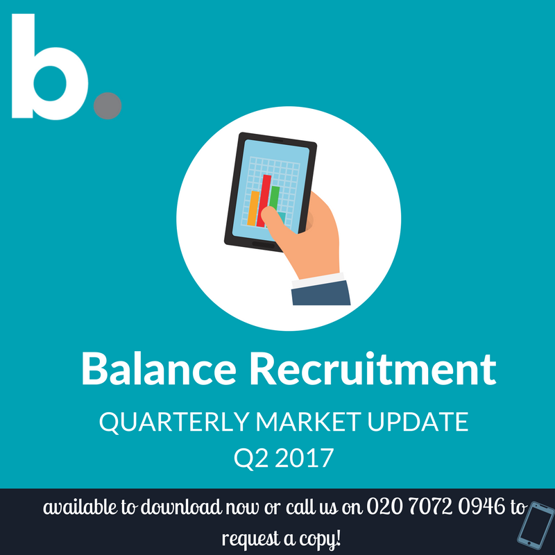 Balance Recruitment quarterly market update