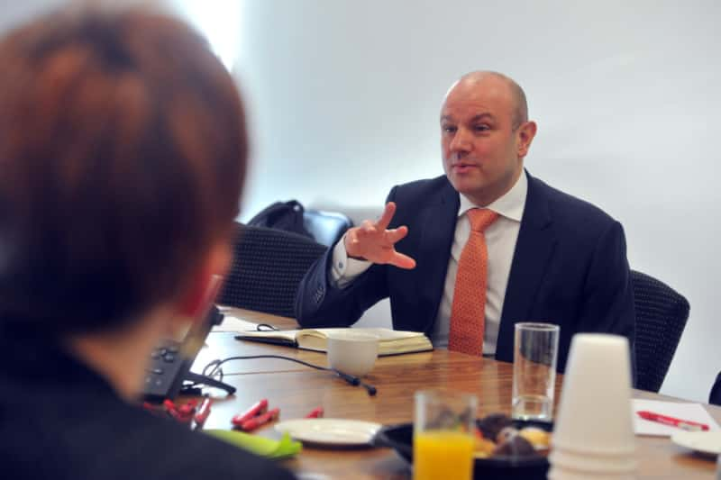 Yorkshire Post round table event with Cascade