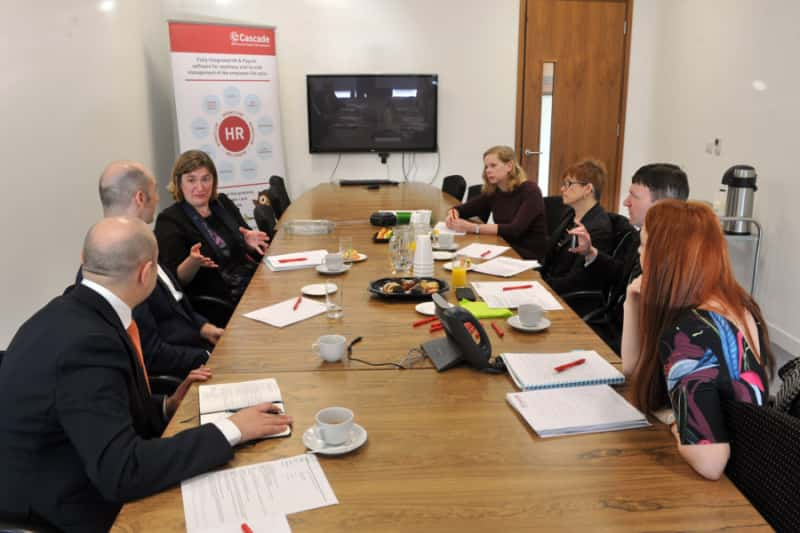 Yorkshire Post roundtable event with the team at Cascade
