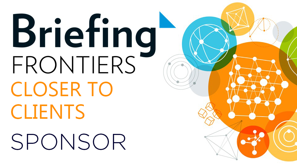 Briefing Frontiers: Closer to Clients 2018 sponsor