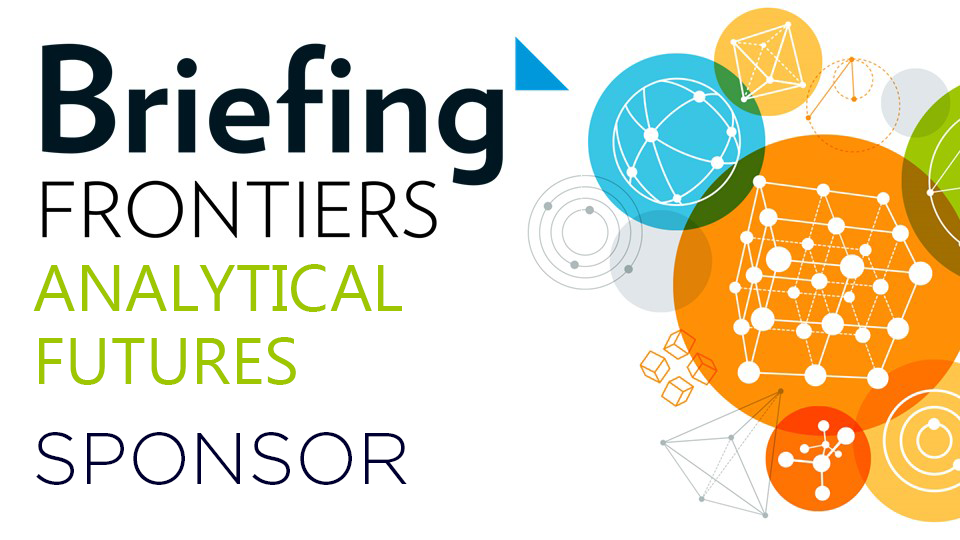 Briefing Frontiers: Analytical Futures 2018 sponsor