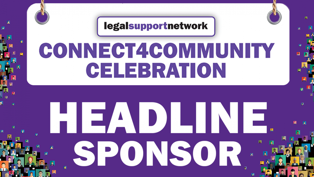 Connect4Community Headline sponsor July 2018