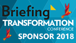 Briefing Transformation conference 2018 sponsor