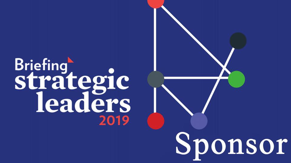 Briefing Strategic Leaders 2019 sponsor