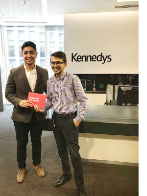 Connect4Community winner Rahul Shah, Kennedys Law